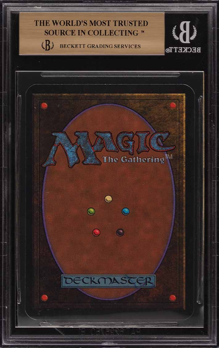 1993 Magic The Gathering MTG Alpha Ancestral Recall R B BGS 9.5 GEM MINT (PWCC) - Image 2