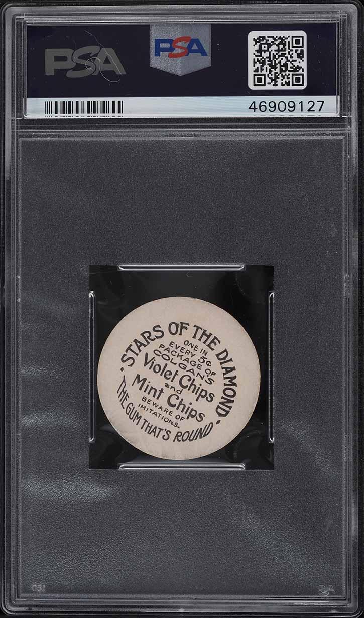 1909 Colgan's Chips Stars Of The Diamond Nick Altrock PSA 4 VGEX - Image 2