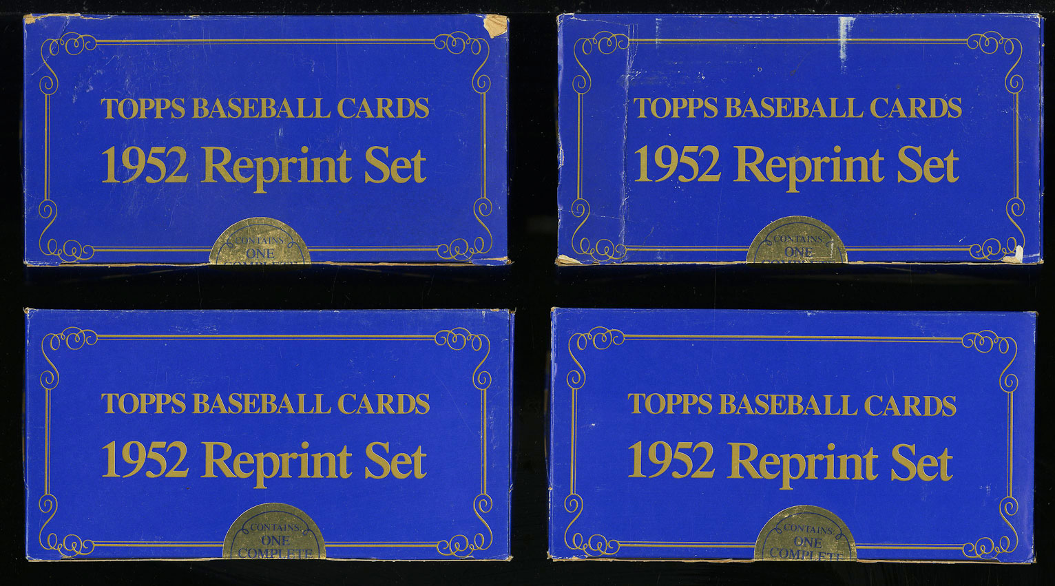Lot(9) 1983 Topps 1952 Reprint Factory Sealed Set, Mickey Mantle #311 (PWCC) - Image 2