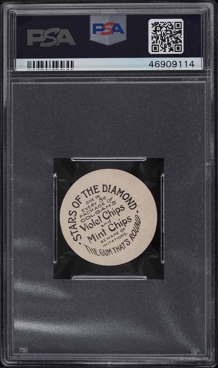1909 Colgan's Chips Stars Of The Diamond Bill Ludwig MILWAUKEE PSA 2 GD - Image 2