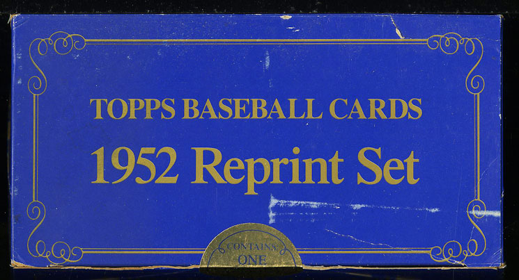 Lot(9) 1983 Topps 1952 Reprint Factory Sealed Set, Mickey Mantle #311 (PWCC) - Image 3