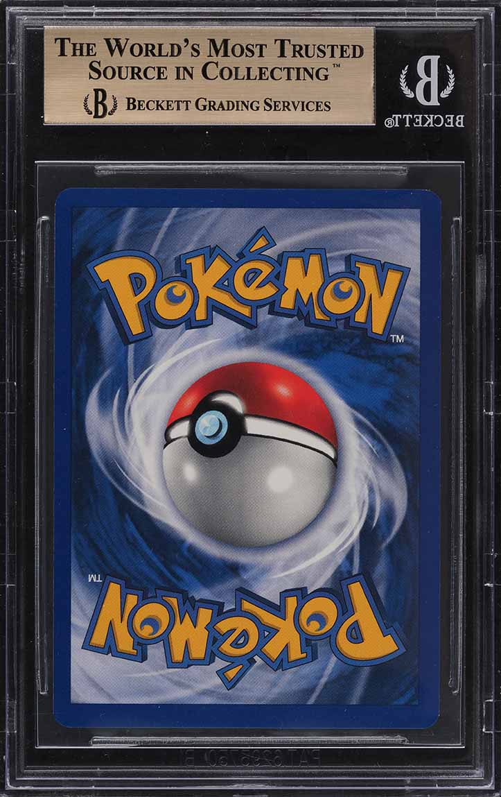 1999 Pokemon Game Shadowless Holo Charizard #4 BGS 9.5 GEM MINT - Image 2
