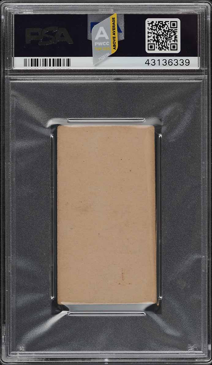 1887 N172 Old Judge Park Swartzel BAT OVER RIGHT SHOULDER PSA 4 VGEX (PWCC-A) - Image 2