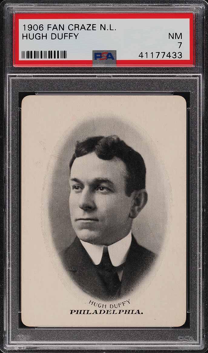 1906 Fan Craze N.L. Hugh Duffy PSA 7 NRMT - Image 1