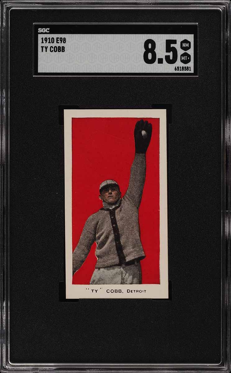 1910 E98 Set Of 30 Red Ty Cobb SGC 8.5 NM-MT+ (PWCC-S) - Image 1