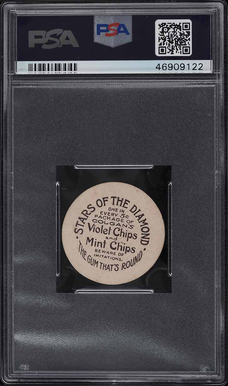 1909 Colgan's Chips Stars Of The Diamond Fred Snodgrass PSA 4 VGEX - Image 2