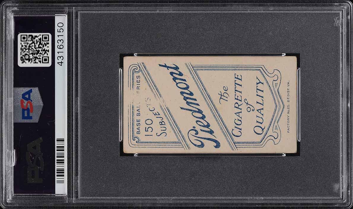 1909-11 T206 Harry Pattee HORIZONTAL PSA 3 VG (PWCC) - Image 2