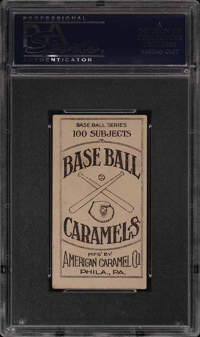 1909 E90-1 American Caramel Chief Bender PSA 4 VGEX - Image 2