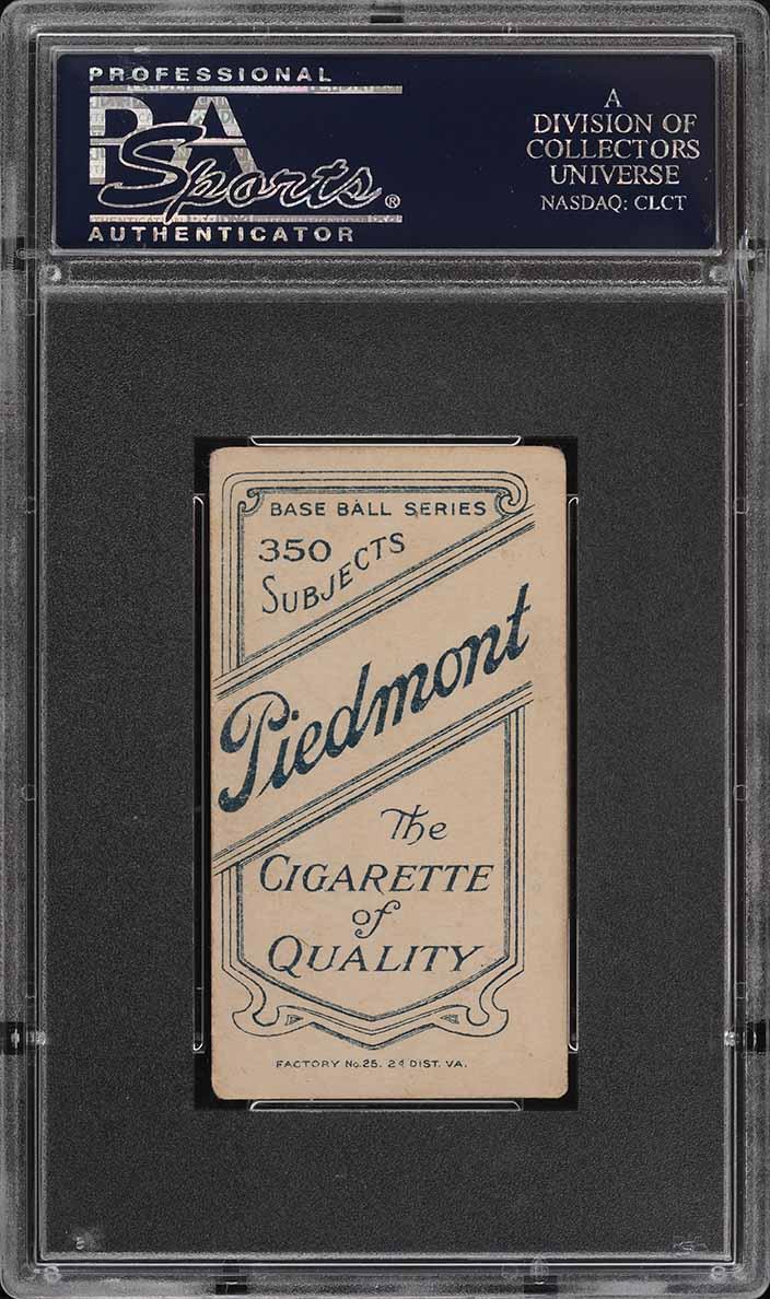 1909-11 T206 SETBREAK Fred Beck PSA 4 VGEX (PWCC) - Image 2