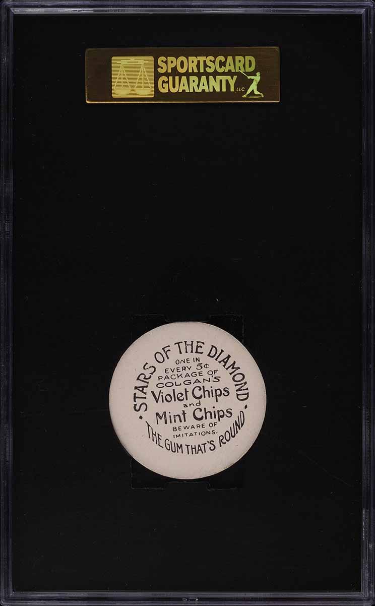 1909 Colgan's Chips Jim McGinley SGC 8 NM-MT - Image 2
