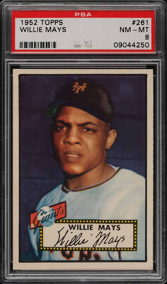 1952 Topps Willie Mays #261 PSA 8 NM-MT (PWCC) - Image 1
