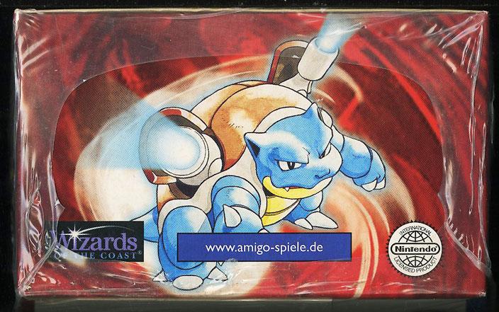 1999 Pokemon Base 1st Edition German Booster Box, Blue Wing Charizard Glurak? - Image 6
