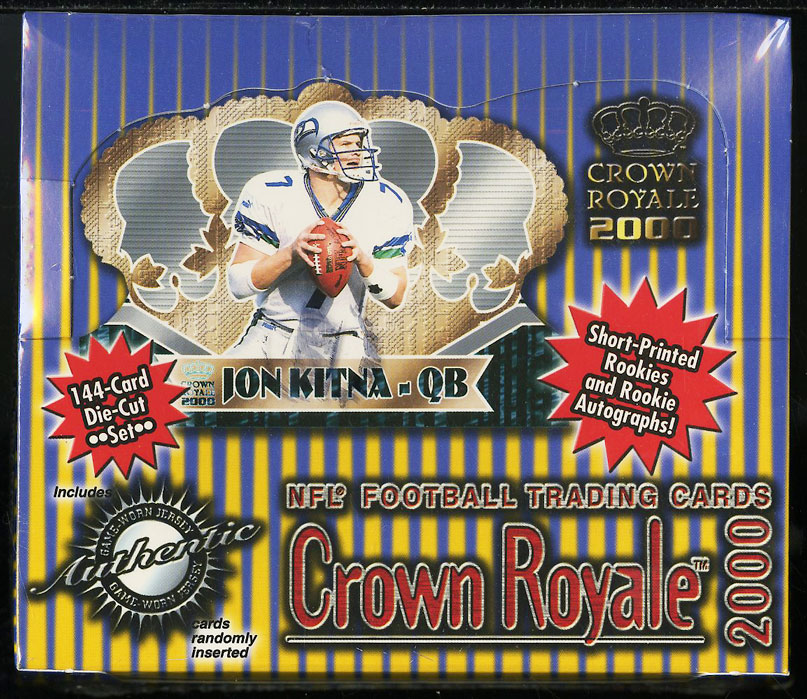 2000 Crown Royale NFL Retail Factory Sealed Box 24ct Tom Brady ROOKIE RC AUTO? - Image 1
