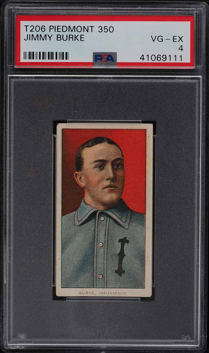 1909-11 T206 Jimmy Burke PSA 4 VGEX - Image 1