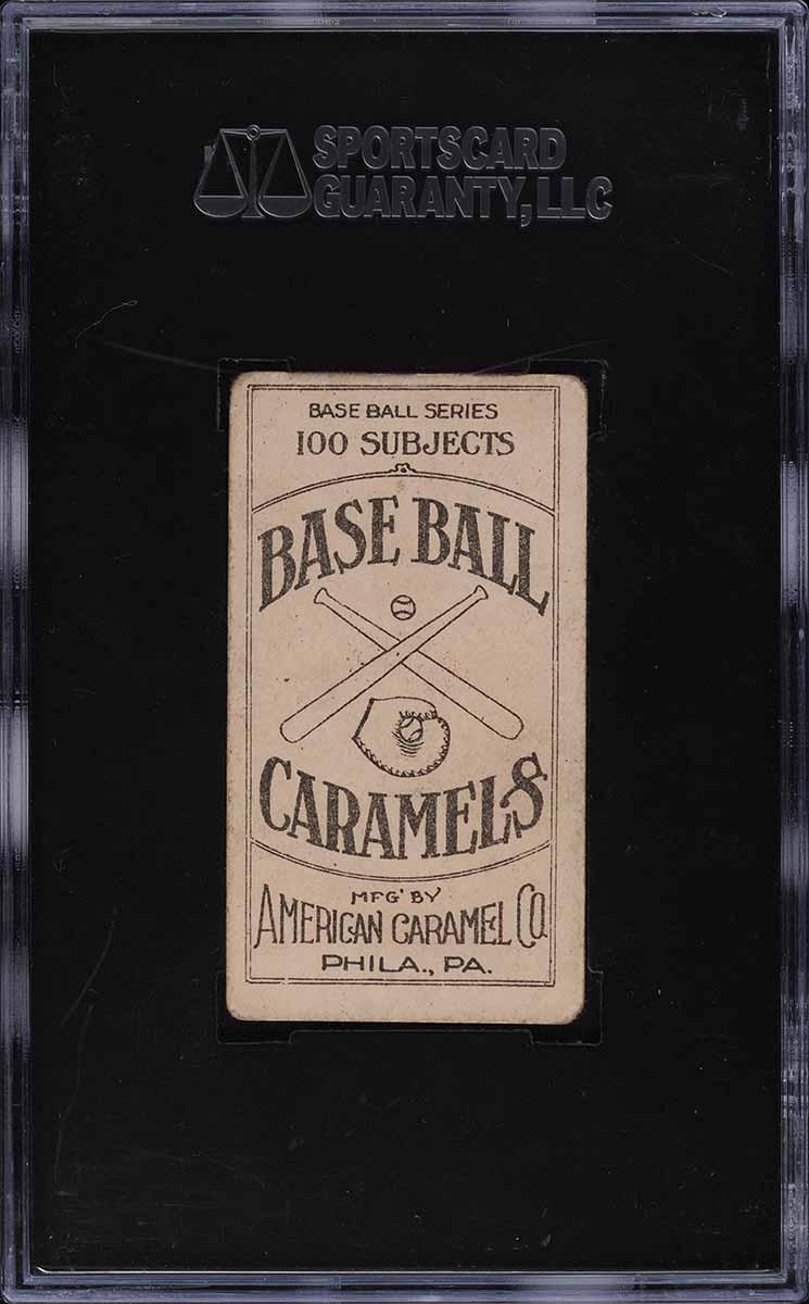 1909 E90-1 American Caramel Germany Schaefer SGC 2GD - Image 2