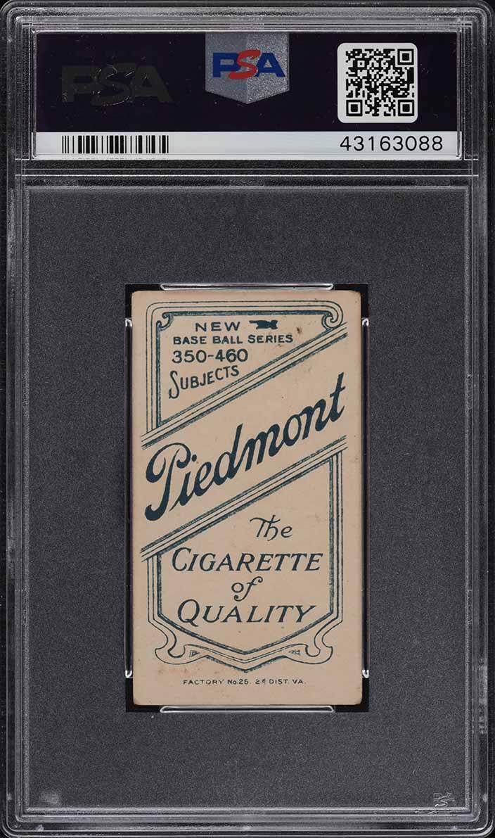1909-11 T206 Cy Seymour THROWING PSA 3.5 VG+ (PWCC) - Image 2