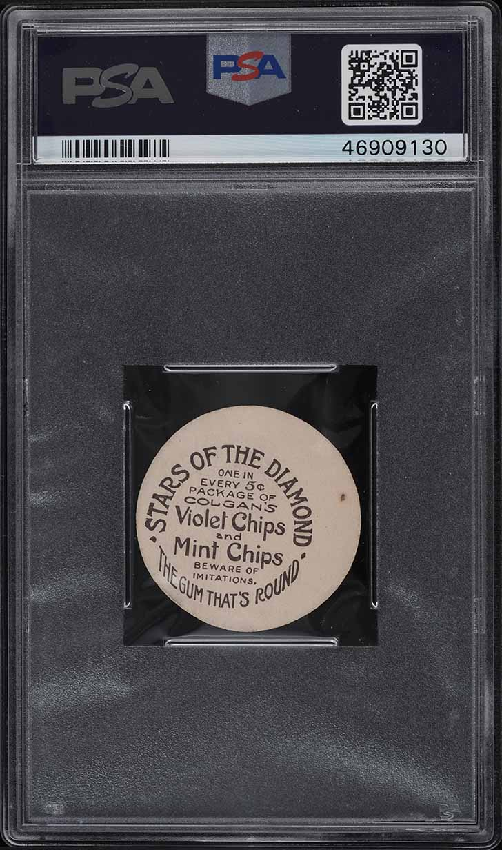 1909 Colgan's Chips Stars Of The Diamond Bill Lelivelt PSA 6 EXMT - Image 2