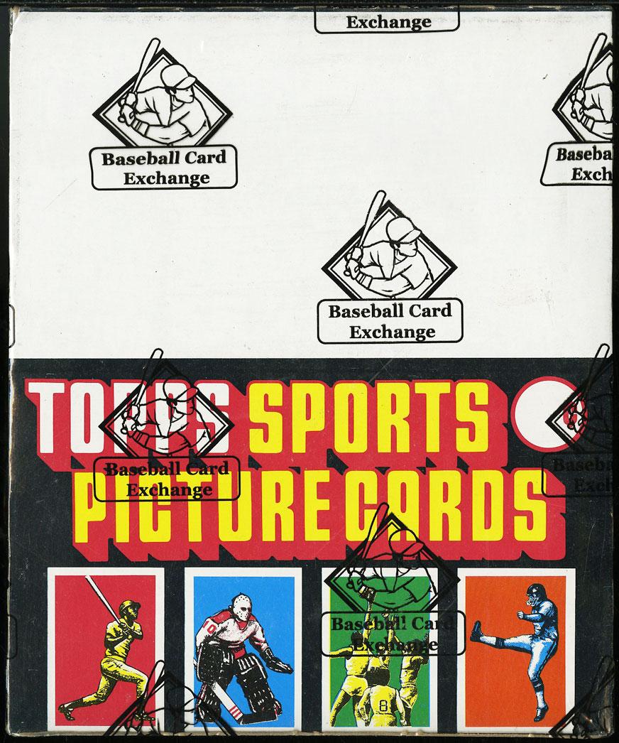 1986 Topps Baseball Rack Box BBCE Authenticated FASC 24ct Rack Packs - Image 1