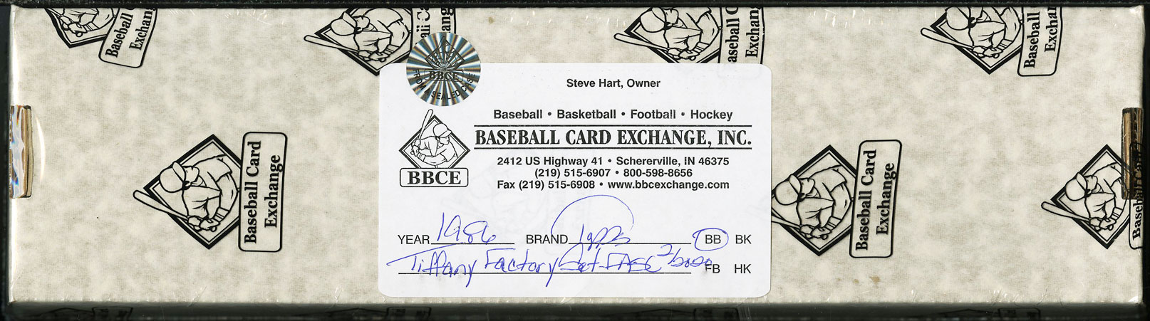 1986 Topps Tiffany FASC Factory Set Ryan Mattingly Clemens Puckett, BBCE Auth - Image 1