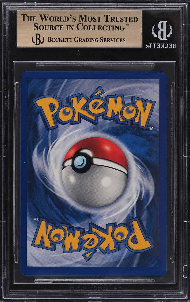 1999 Pokemon Game Shadowless Holo Charizard #4 BGS 9.5 GEM MINT - Image 2