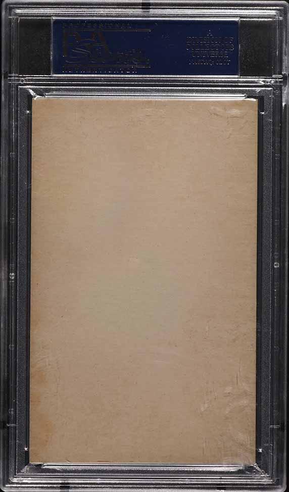1927 Exhibits Eppa Rixey GREEN TINT PSA 5 EX - Image 2