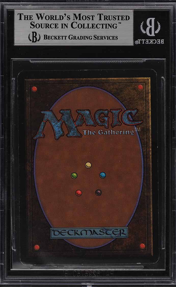1993 Magic The Gathering MTG Beta Black Lotus R A BGS 8.5 NM-MT+ - Image 2