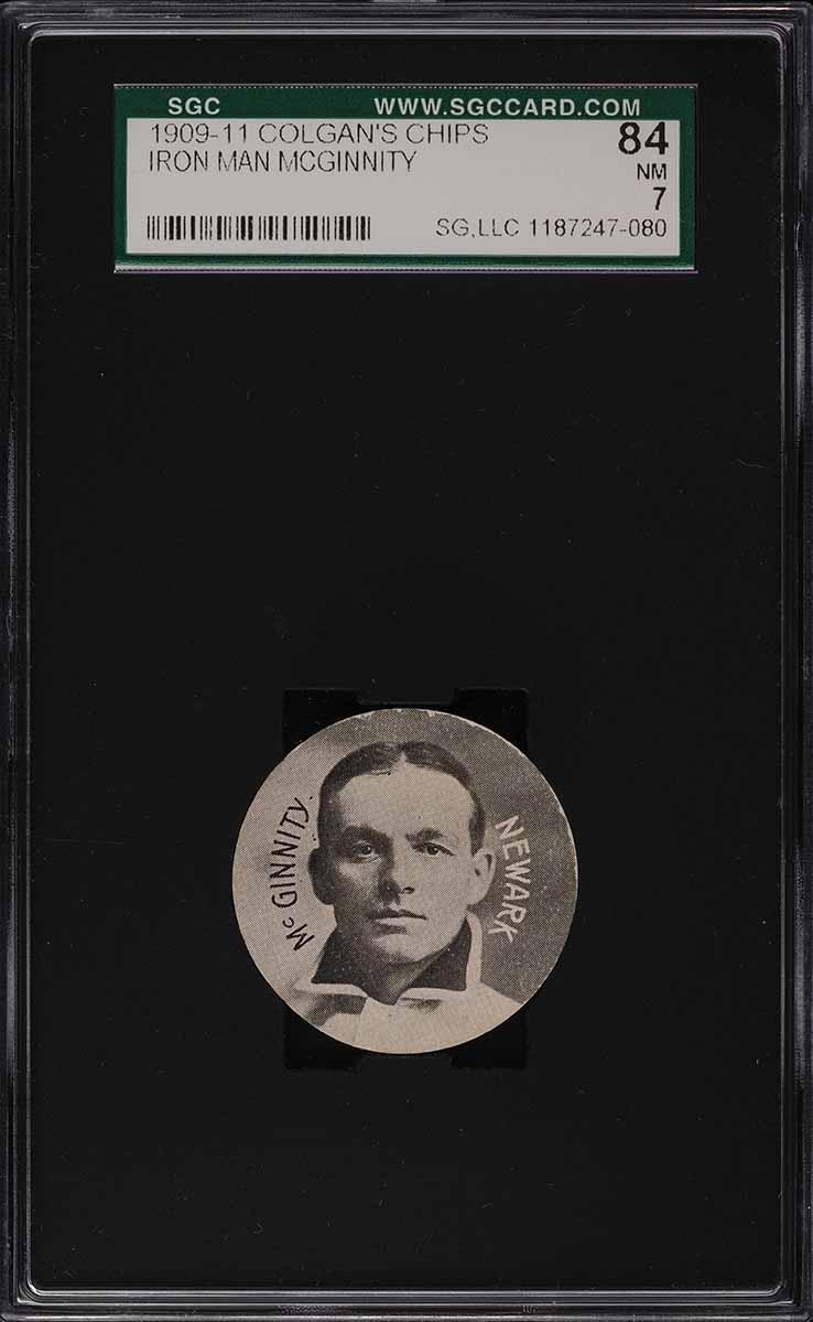 1909 Colgan's Chips Iron Man McGinnity SGC 7 NRMT - Image 1