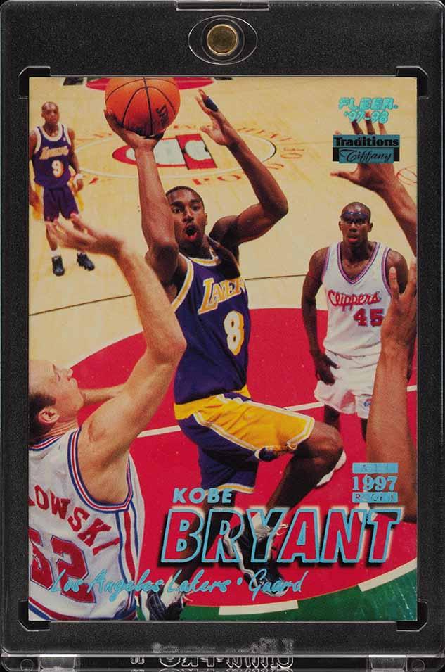 1997 Fleer Tiffany Collection Kobe Bryant #50 (PWCC) - Image 1