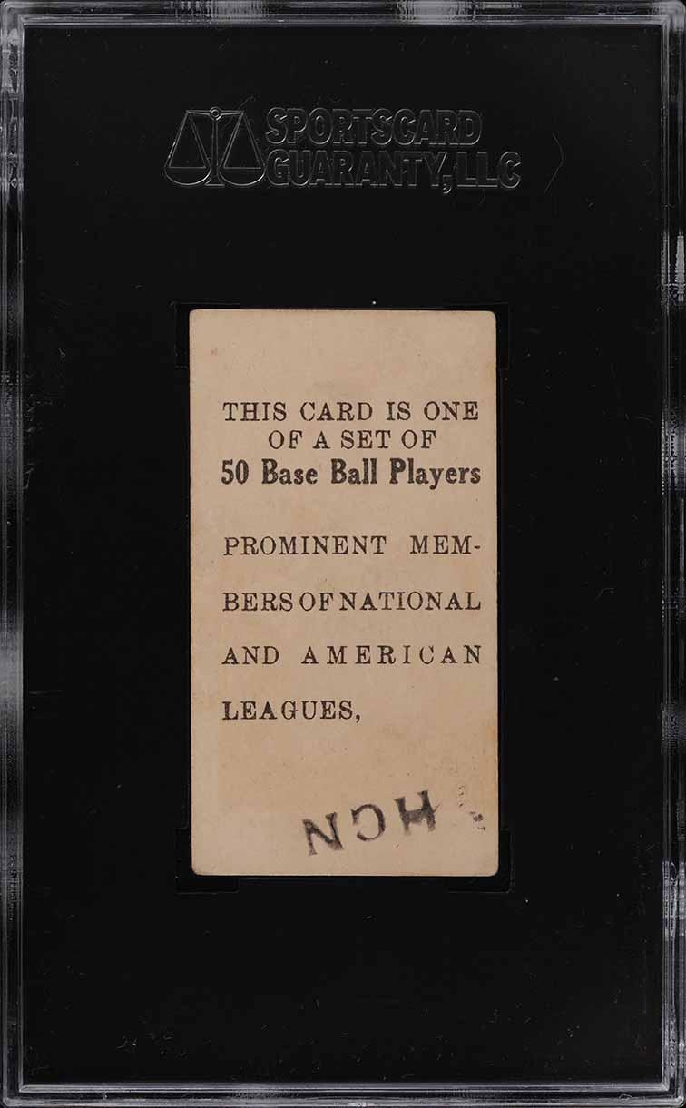 1909 E101 Set Of 50 Wild Bill Donovan SGC 1.5 FR - Image 2