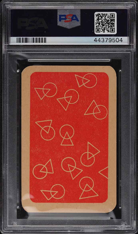 1958 Monty Gum International Footballers Red Pele ROOKIE RC PSA 7 NRMT - Image 2