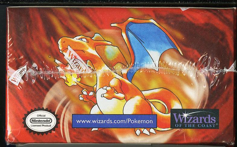 1999 Pokemon Base Set Factory Sealed Booster WOTC Box, Blue Wing Charizard - Image 6