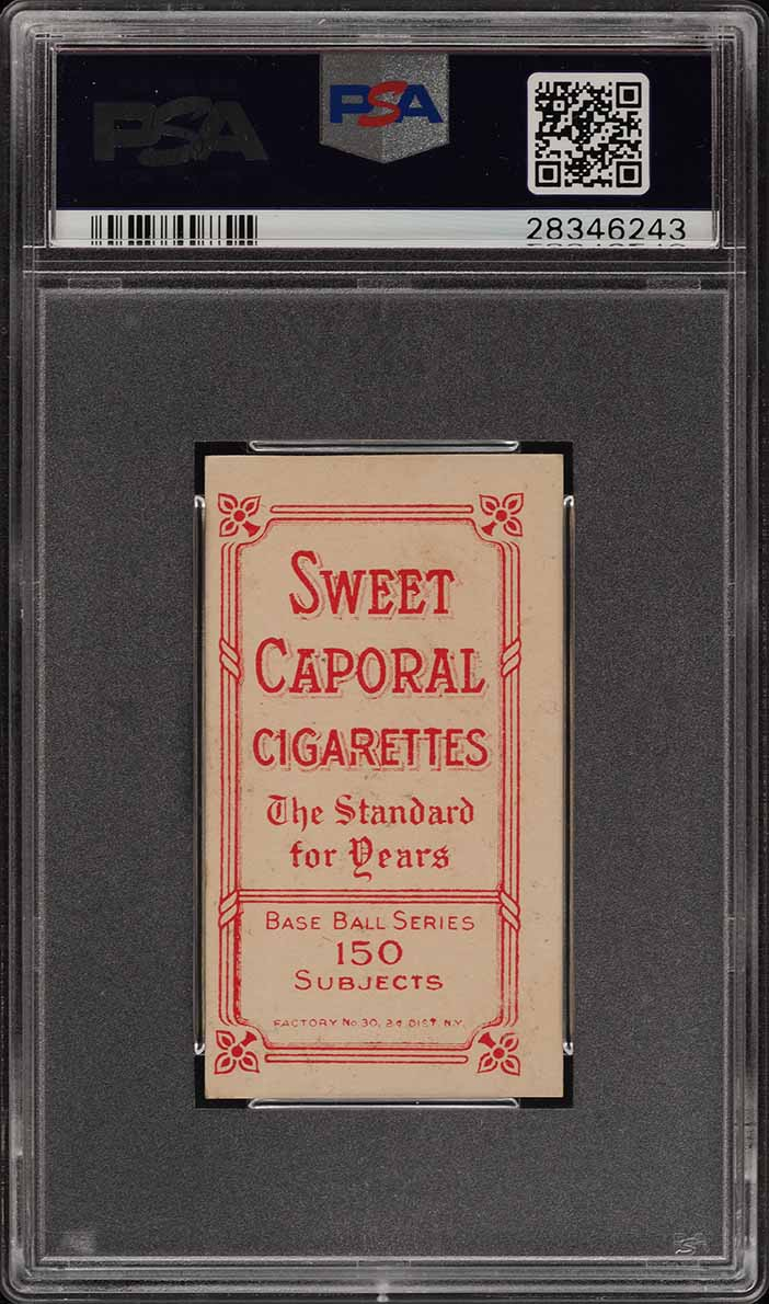 1909-11 T206 Ed Abbaticchio BROWN SLEEVES PSA 5 EX (PWCC) - Image 2
