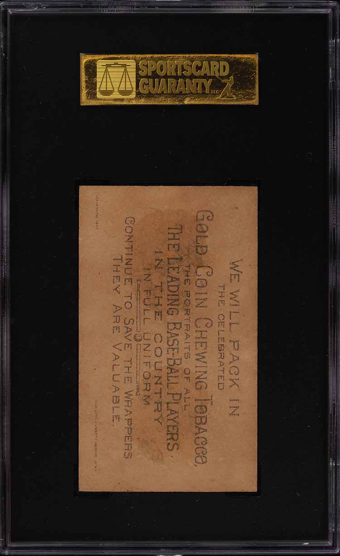 1887 N284 Buchner Gold Coin Billy O'Brien SGC 2 GD (PWCC) - Image 2
