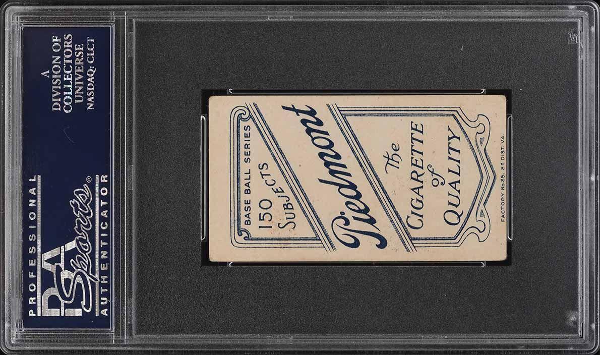 1909-11 T206 SETBREAK Jack Powell HORIZONTAL PSA 4 VGEX (PWCC) - Image 2