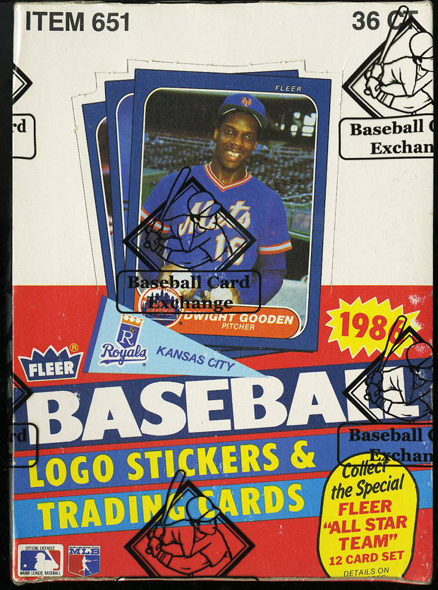 1986 Fleer Wax Box, 36ct Wax Packs, Nolan Ryan Jose Canseco ROOKIE RC? BBCE AUTH - Image 1